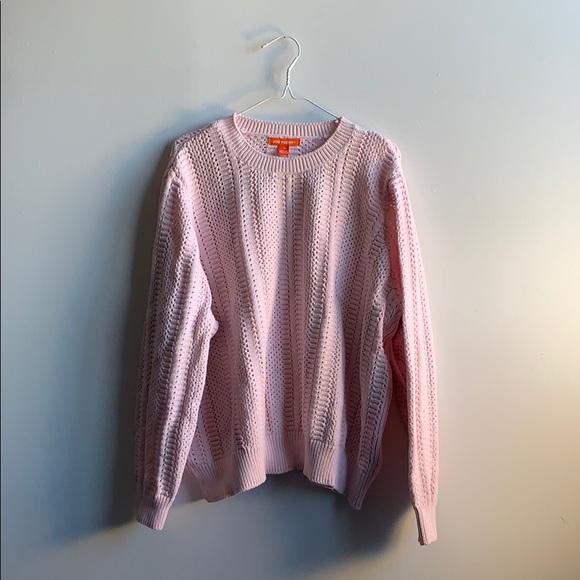 Soft Pink Knit Sweater